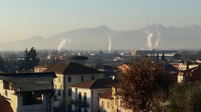 Smog a Lucca e nella Piana