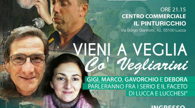 Spettacolo in vernacolo lucchese al Pinturicchio