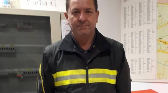 Stefano Germano Danti vigili del fuoco Lucca pensione