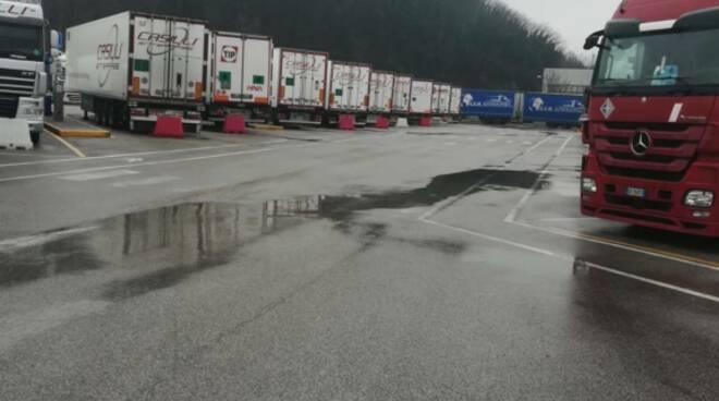 Truck Village a Santa Croce sull'Arno delegazione in visita a Colleferro
