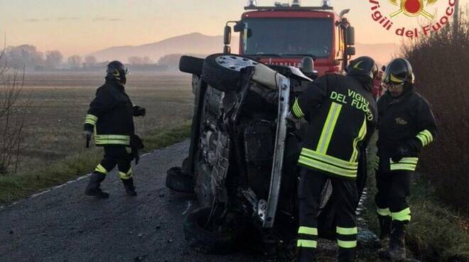 via della Bigattiera Pisa incidente stradale