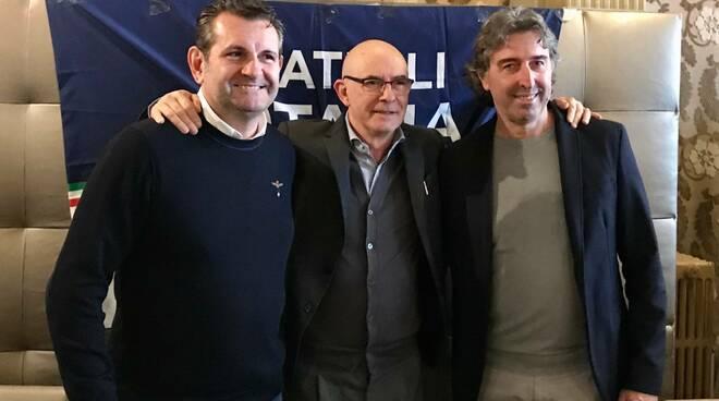 Zucconi Dondolini Simoni Fratelli d'Italia Viareggio