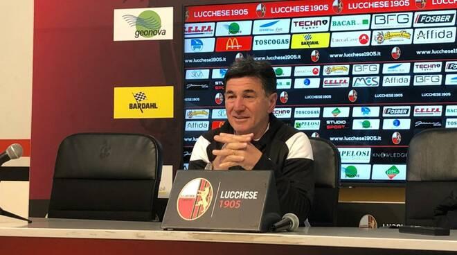 allenatore Lucchese Francesco Monaco