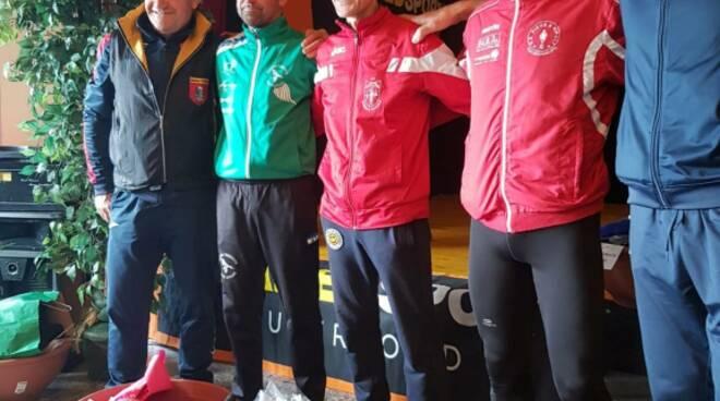 atleti del Gp Parco Alpi Apuane