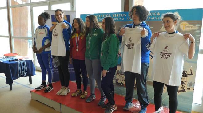Atletica Virtus Lucca campionati italiani invernali di lanci