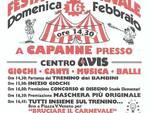 Avis Capanne locandina Carnevale