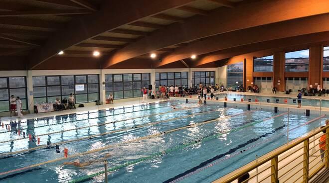 campionati regionali di nuoto paralimpico piscina Fucecchio Santa Croce