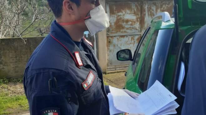 carabinieri empoli mascherina