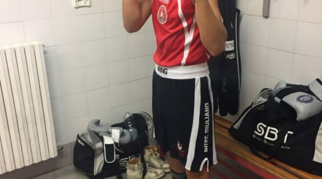 Primo macth per la boxe Giuliano di borgo a Mozzano