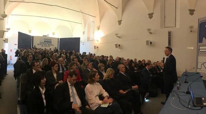 Carige incontra vertici Bml banca Francesco Guido Carlo Lazzarini