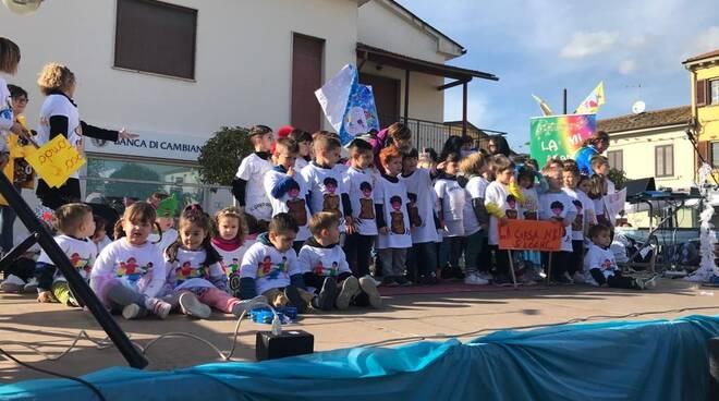 Carnevale dei Bambini di Orentano terza sfilata 16 febbraio 2020