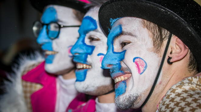 Carnevale di Viareggioo prima sfilata 1 febbraio 2020