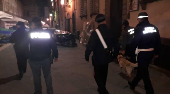 controlli movida centro storico polizia carabinieri polizia municipale