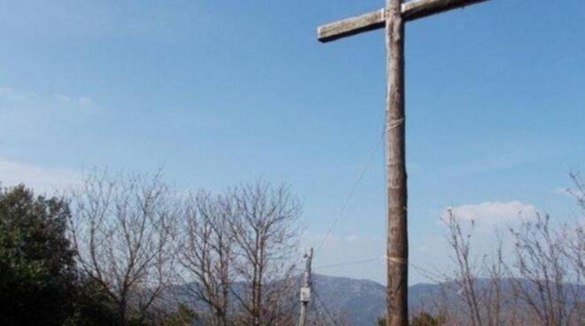 croce di Vorno monte Zeno Capannori