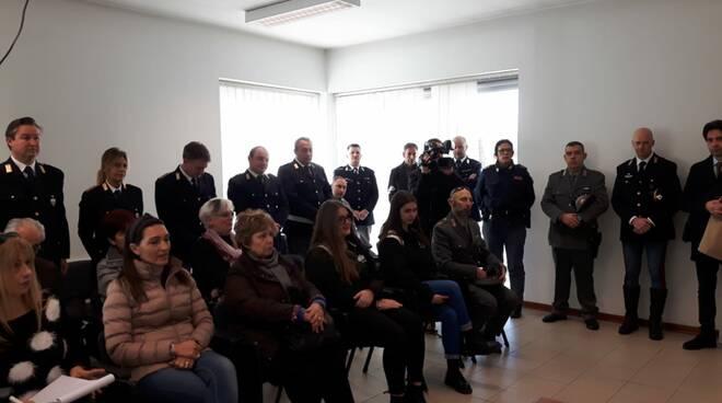 defibrillatore Polstrada De Bellis intitolazione