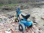 discarica abusiva parco fluviale Cambiamo! Lucca