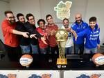 Etrusca basket San Miniato alla presentazione della Coppa Italia di basket serie B e A2 stagione 2019-2020