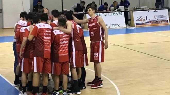 Etrusca San Miniato basket 16 febbraio 2020