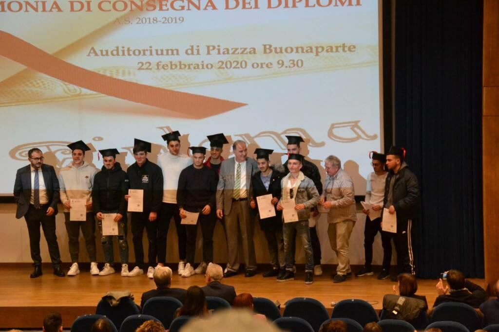 Festa dei diplomi 2020 all'istituto Cattaneo di San Miniato