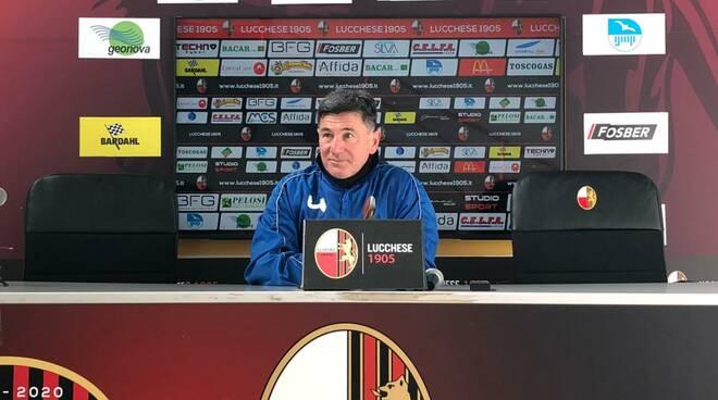 Francesco Monaco prepartita Casale calcio serie D
