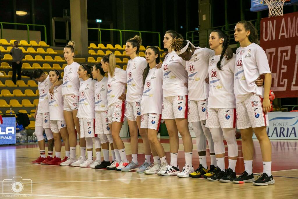 Gesam Gas Lucca Battipaglia basket A1 femminile