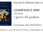 Giampaolo Simi I giorni del giudizio libro presentazione Lucca