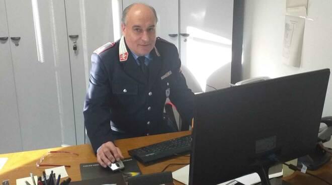 Gianluigi Bernardi comandante polizia municipale Unione Comuni Garfagnana