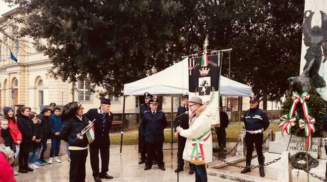 Giorno del Ricordo, Fucecchio commemora le foibe con i ragazzi della scuola