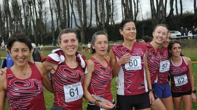 Gs Lammari tricolori mezza maratona
