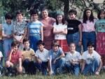 I A dell'anno scolastico 1980-1981 della scuola elementare Dante Alighieri di San Miniato Basso
