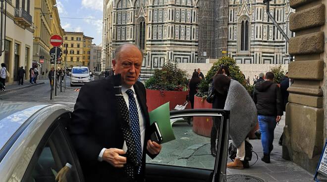 Il sindaco Alessandro Tambellini al vertice di Firenze