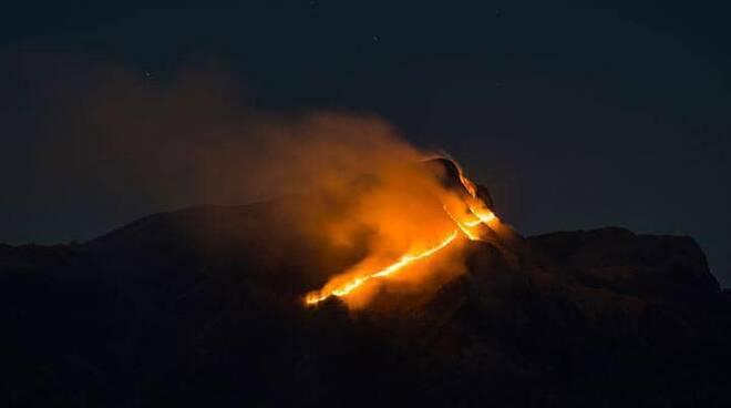 incendio Monte Croce Stazzema Fabbriche di Vergemoli