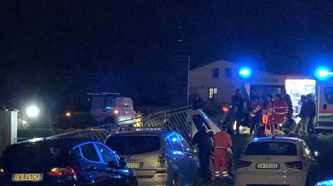 Incidente in via Romana est a Porcari