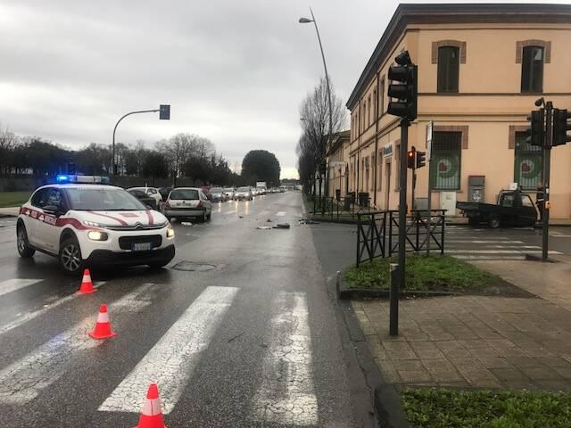 Incidente in viale Giusti, grave un 67enne