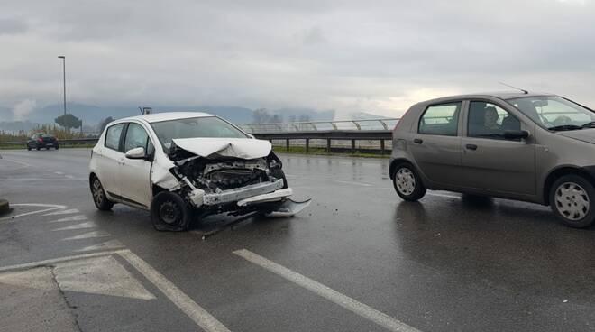 incidente Lucca via per Camaiore 1 febbraio 2020