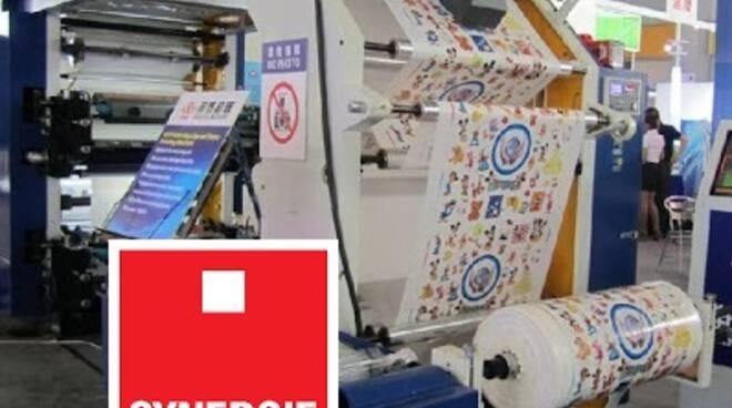 macchina stampatrice plastica