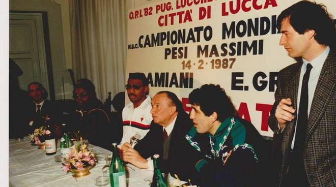 Mondiali a Lucca pugilato Francesco Damiani