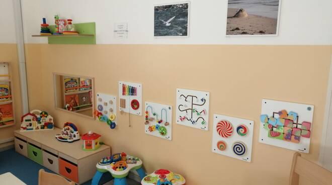 nuova sala neuropsichiatria infantile Campo di Marte Lucca
