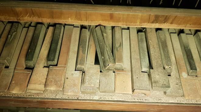 organo della chiesa dei santi Ippolito e Cassiano