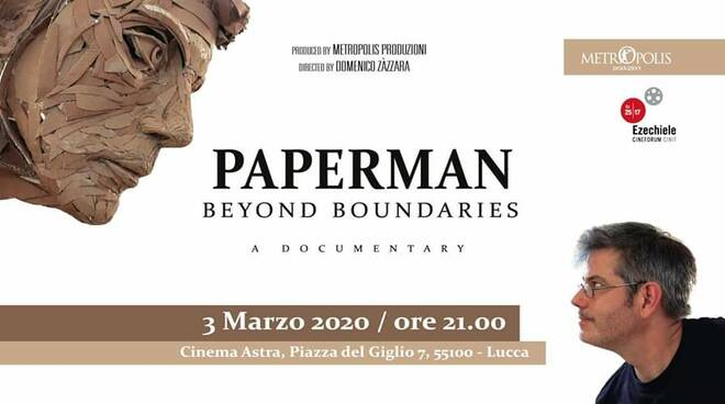 Paperman beyond boundaries al cinema Astra Metropolis Produzioni