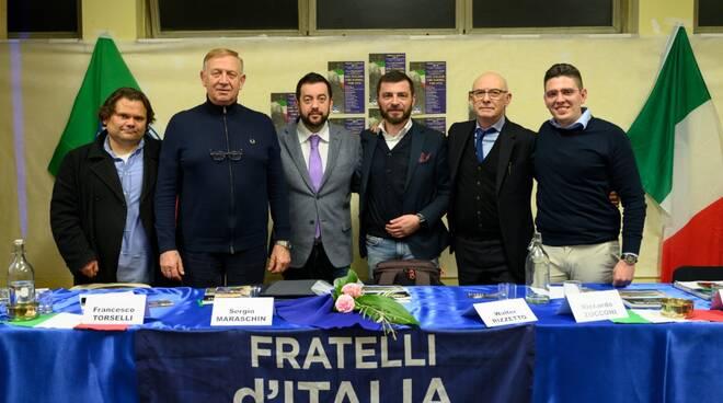 Petrini Torselli Zucconi Rizzetto Ricci Fratelli d'Italia Capannori