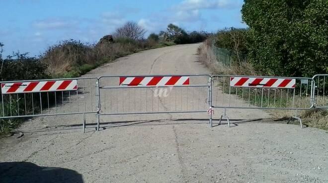 ponte via delle idi di marzo chiuso a gello di pontedera