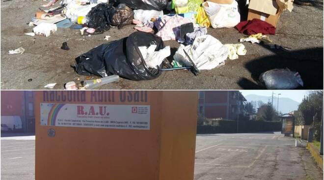 pulizia territorio rifiuti Sistema Ambiente Lucca