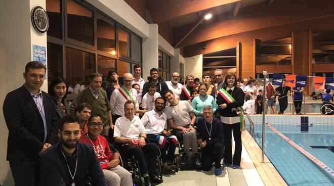 regionali nuoto paralimpico Fucecchio Santa Croce sull'Arno