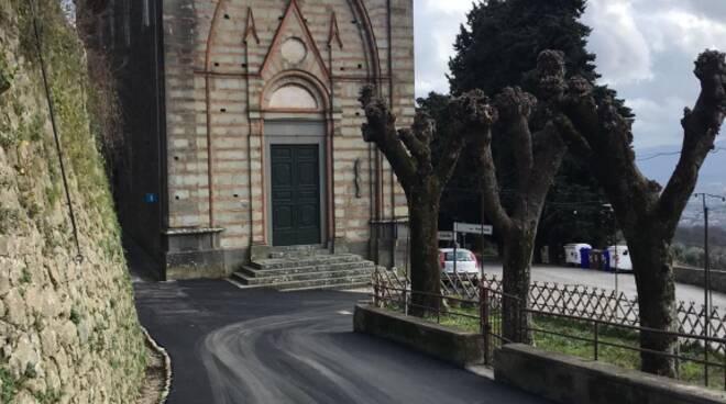 riqualificazione via di Mezzo Valgiano Capannori