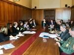 riunione coronavirus prefettura pisa