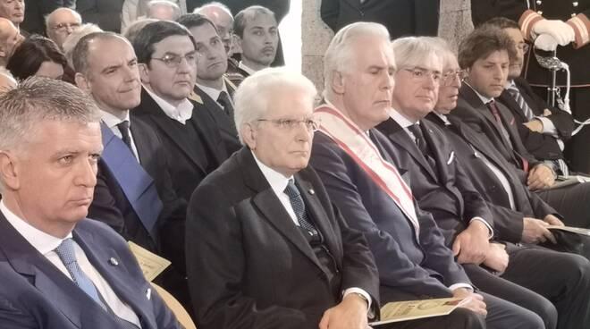 Sant'Anna di Stazzema visita presidente della Repubblica Sergio Mattarella commemorazione eccidio