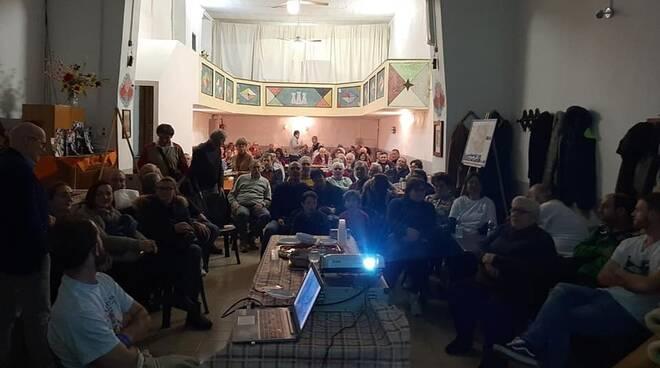 sentiero Cai Montefegatesi presentazione teatro Ermete Zacconi
