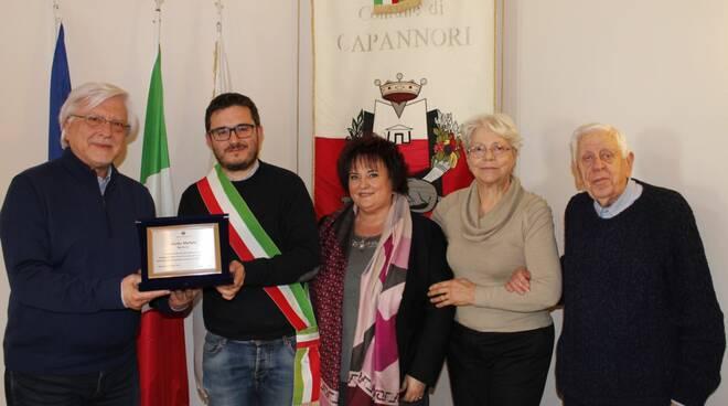 targa Capannori baritono Guido Malfatti