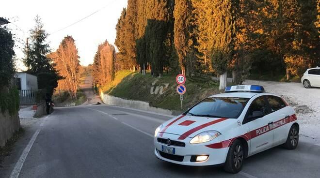 vento forte 5 febbraio 2020 polizia municipale san miniato alberi caduti